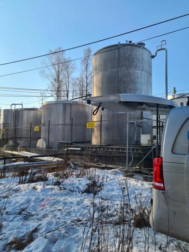Avsluttet uken med et lekkasjesøk i Hokksund (1)