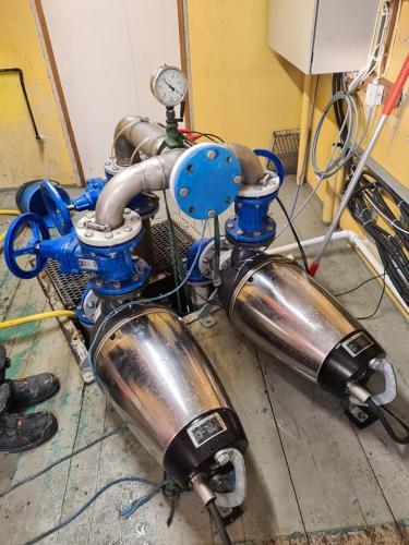 Pluggrensing av 400 Mtr 110mm kloakkpumpeledning på Hadeland Dette er forebyggende arbeid som passer godt å utføre nå på vinterstid!